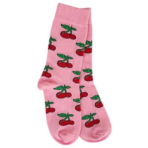 Cherry-Pink Sock