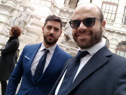 L'Avvocato Roberto Scotti, dello Studio Legale SGS, neo Presidente dell'Aiga Vallo della Lucania