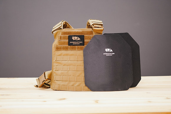 WS - Level III+ Shooters Cut Plate Carrier Package
