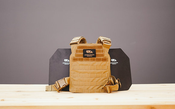 Level III Shooter Cut Plate Carrier Package