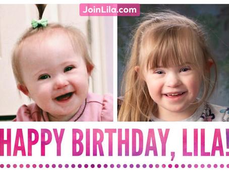 Happy Birthday, Lila!