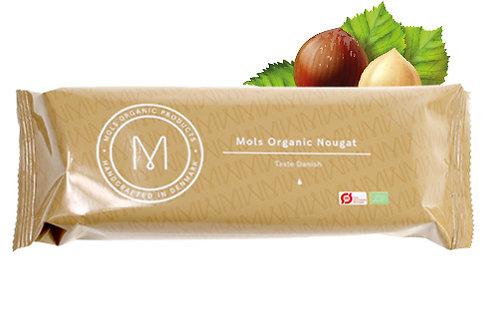 Øko nougat hjemmelavet af Mols Organic