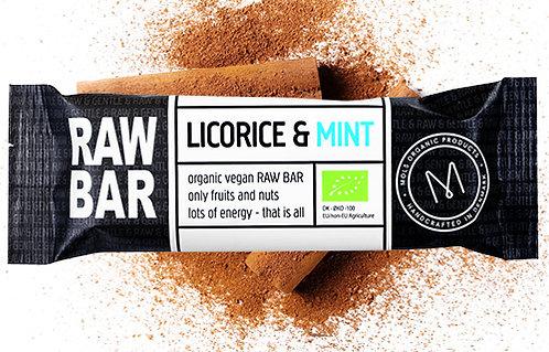 Licorice & Mint RAW BAR 45 g