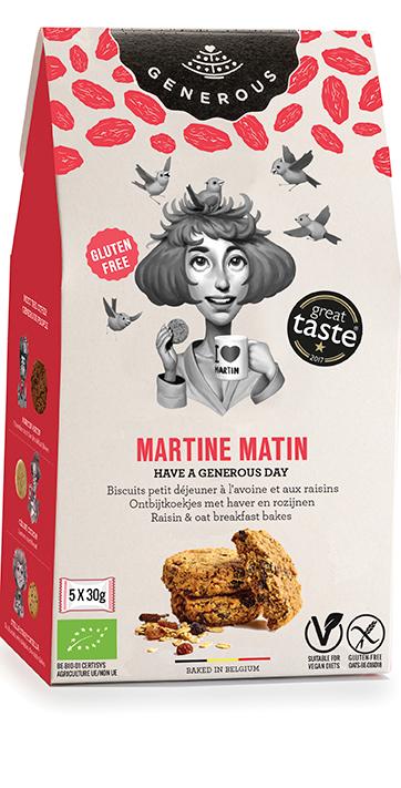 Glutenfri småkager med müsli. Martine Matin fra Generous.