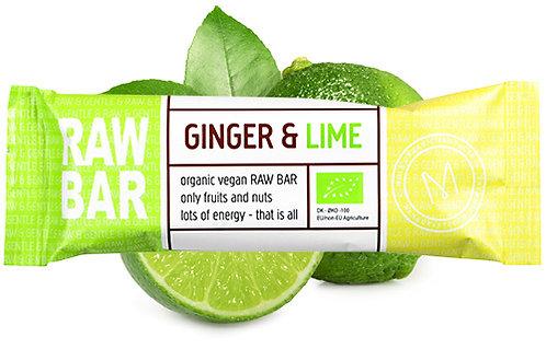 Ginger & Lime RAW BAR 45 g