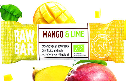 Mango & Lime RAW BAR 45 g
