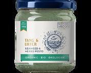 Økologisk pesto med tang og urter. Produceret i Danmark af Rømer Vegan.