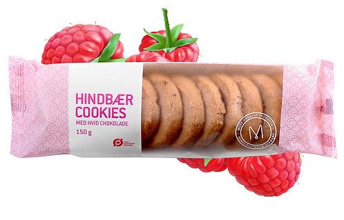 Lækre sprøde og søde hindbær småkager fra Mols Organic. Økologiske.
