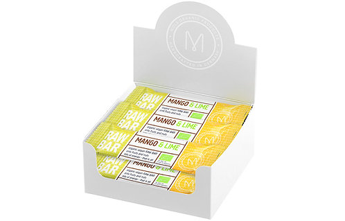 Mango & Lime RAW BAR 12 x 45 g