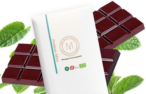 Chokoladeplade 50 g – Andean Mint