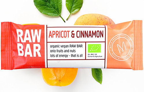 Apricot & Cinnamon RAW BAR 45 g