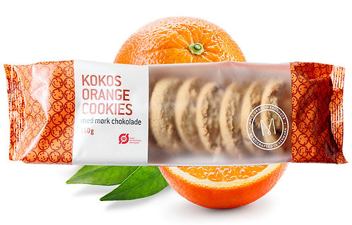 Kokos Orange Cookies 150g