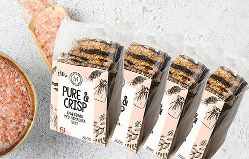 4 x pakker Knækbrød med Himalaya salt