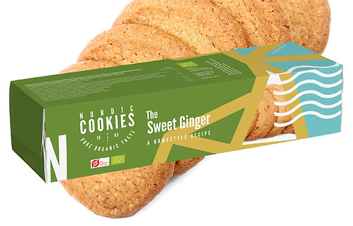 Nordic Cookies - The Sweet Ginger