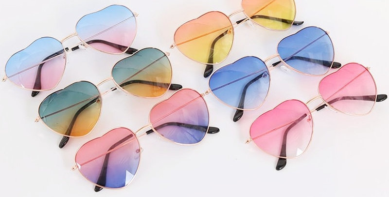 Fashion Heart Shaped Sunglasses
