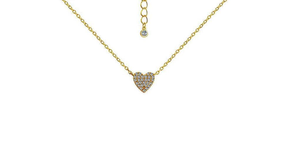 Sweet Shine Heart Necklace