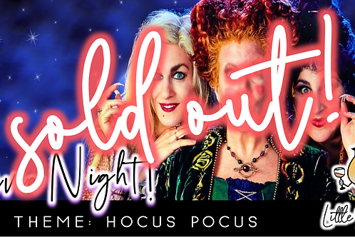 SOLD OUT: Trivia Night: Hocus Pocus Theme! (9/21 @ 6:30pm)