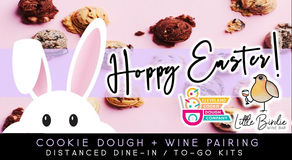 Hoppy Easter Cookie Dough + Wine Pairing (4/2)