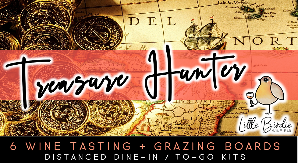 Treasure Hunter Wine Tasting + Grazing Boards (5/14)