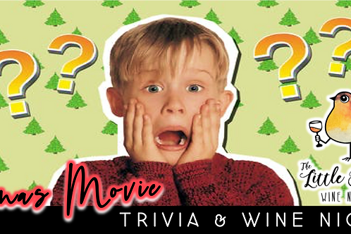 Christmas Movie Trivia & Wine Night