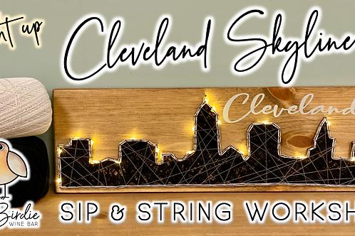Cleveland Skyline Sip & String Workshop (8/31 @ 6pm)
