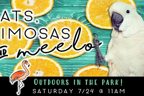 Mats, Mimosas & MEELO in the Park (7/24)