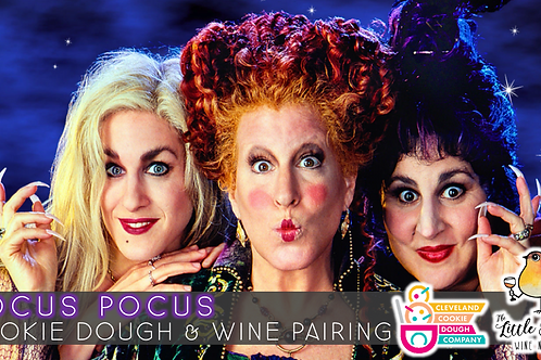 Hocus Pocus Cookie Dough & Wine Pairing
