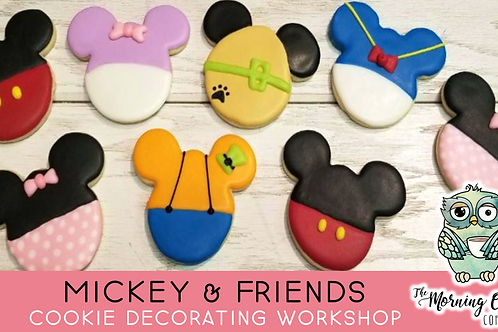 Mickey & Friends Beginner's Cookie Decorating Workshop (3/28 @ 10am)