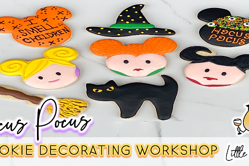 Hocus Pocus Cookie Decorating Workshop (10/30 @ 10am)