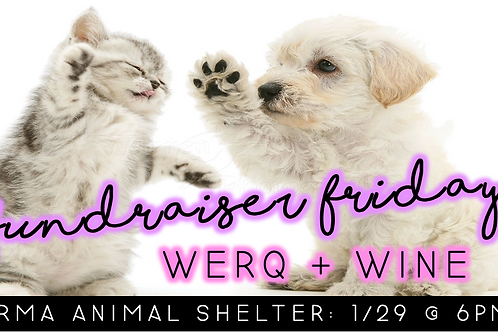 Fundraiser Friday: WERQ & Wine (1/29 @ 6pm)