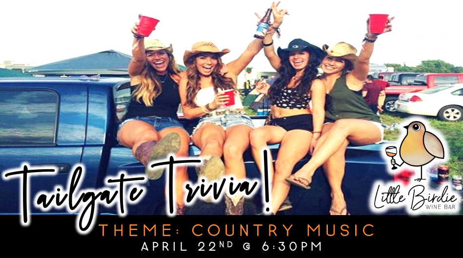 Tailgate Trivia: Country Music Theme!