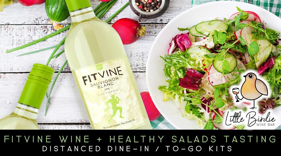 Fitvine Wine & Healthy Salads Tasting (4/16)