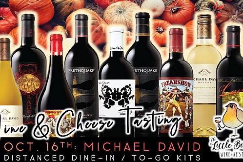 Michael David | Wine & Cheese Tasting