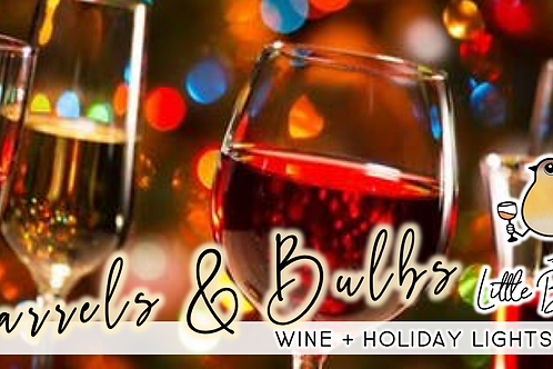 Barrels & Bulbs: Private Wine & Holiday Lights Tours