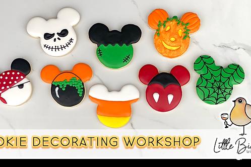 Mickey's Halloween Cookie Decorating Workshop (10/16 @ 10am)