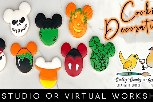 Mickey's Halloween Cookie Decorating Workshop (10/24 @ 10am)