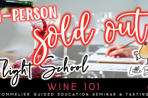 Flight School: Wine 101