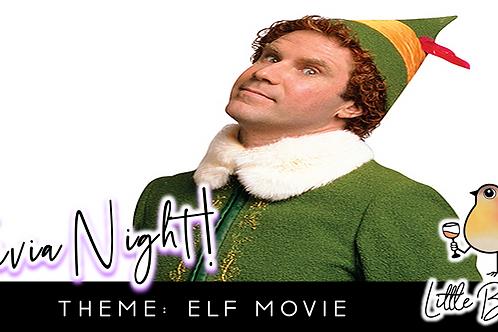 Trivia Night: Elf Movie Theme! (12/7 @ 6:30pm)
