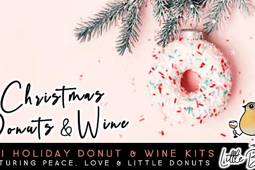 Christmas Donuts & Wine