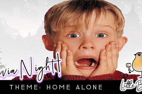 Trivia Night: Home Alone Theme! (11/30 @ 6:30pm)