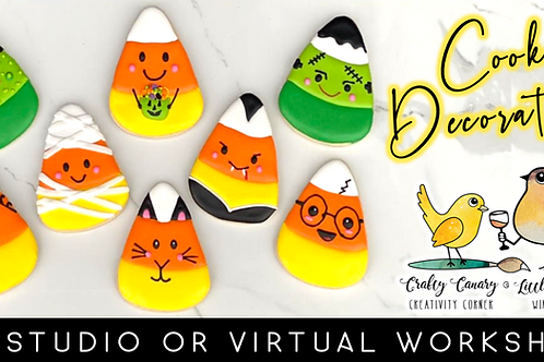 Candy Corn Cookie Decorating Workshop (10/17 @ 10am)