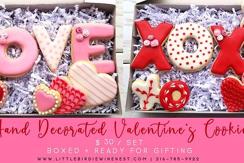 Valentine's Cookie Sets