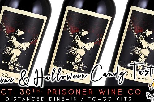 Prisoner Wine Co. | Wine & Halloween Candy Tasting