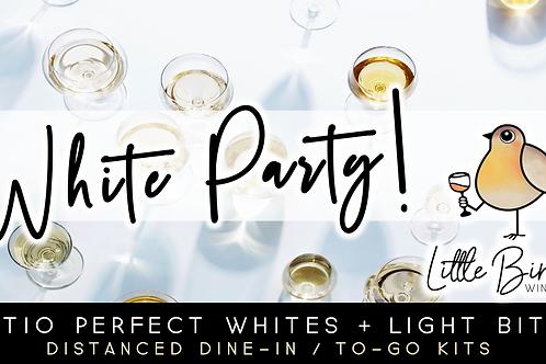 White Party: Patio Perfect Whites + Light Bites (7/16)
