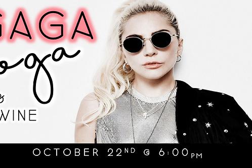 GAGA Yoga + Wine (10/22 @ 6pm)
