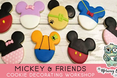 Mickey & Friends Cookie Decorating Workshop (2/27 @ 10am)