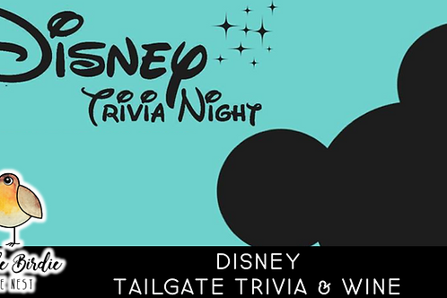 Disney Tailgate Trivia & Wine
