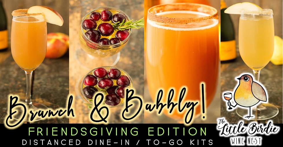 Brunch & Bubbly | Friendsgiving Edition (11/21)