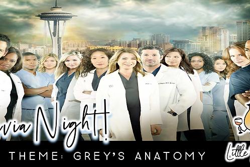 Trivia Night: Grey's Anatomy Theme! (8/24 @ 6:30pm)