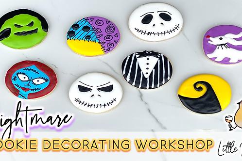 Nightmare Cookie Decorating Workshop (10/23 @ 10am)